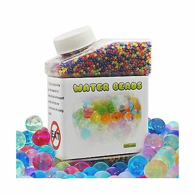 Water Beads 8.8 oz (30000 beads)Reusable for Orbeez Spa Refill Sensory To... New