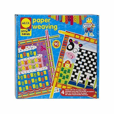 ALEX Toys - Early Learning Paper Weaving - Little Hands 1427 New