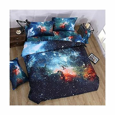 Babycare Pro Galaxy Bedding Sets Twin Size for Kids100% Polyester Duvet C... New