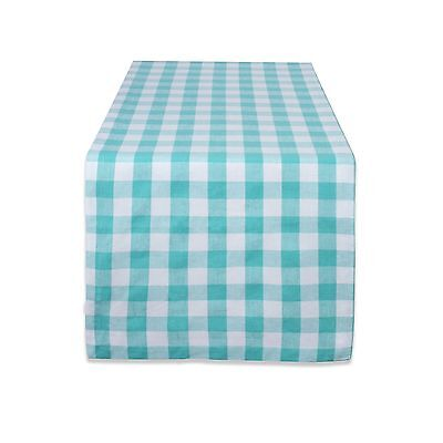 "DII 100% Cotton Machine Washable Dinner Everyday Use Table Runner 14x72"" ... New"