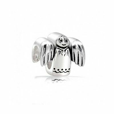 Bling Jewelry Christmas Angel Sterling Silver Holiday Bead Pandora Compat... New