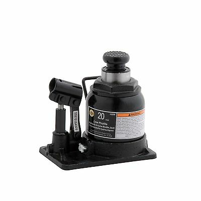 Omega 10208 Black Shorty Hydraulic In-Line Bottle Jack-20 Ton Capacity New