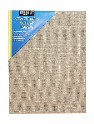 "Sargent Art 90-2028 Stretched Burlap Canvas 9 x 12"" New"