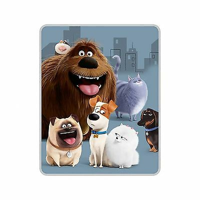 "The Secret Life of Pets Silky Soft Throw 40"" x 50"" New"