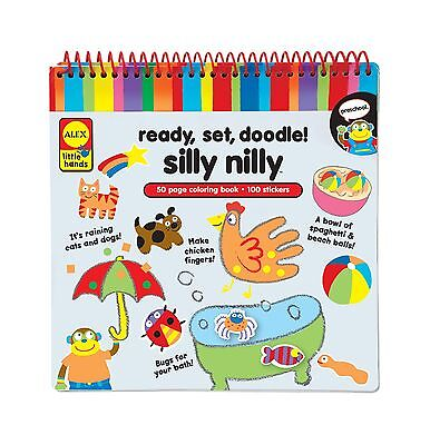 Alex Toys Little Hands Ready Set Doodle Silly Nilly New