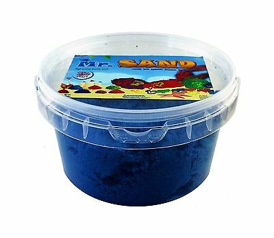Mr. Sand - High Quality Indoor Playing Sand (Blue) Blue New
