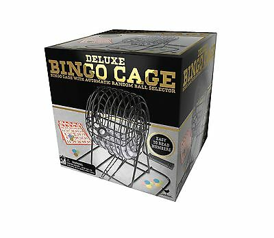 Cardinal Games Deluxe Wire Cage Bingo Set (Styles Will Vary) New