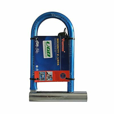 Tonyon TY325 U-Lock Bike Bicycle Cycling Scooter Security Steel Lock New