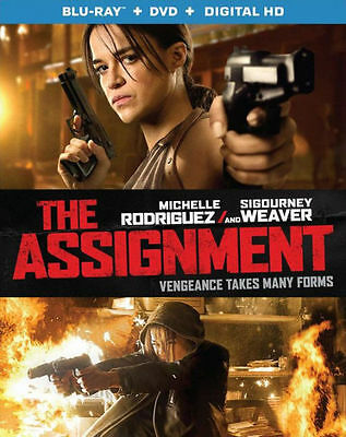 THE ASSIGNMENT (Michelle Rodriguez) - BLU RAY - Region A