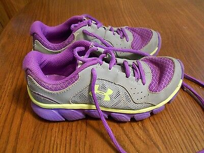 Girls Shoes Under Armour Purple Size 1.5 Youth