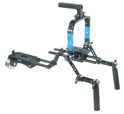 BRAND NEW Filmcity Camera Support Shoulder Rig Kit (FC-07)