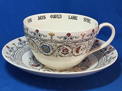 Rare Spode China Florence pattern jumbo cup and saucer