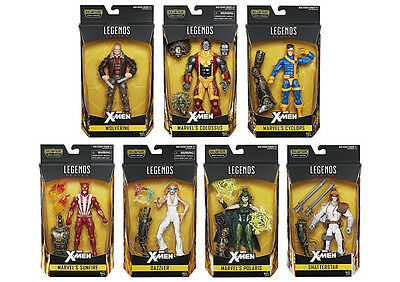 Marvel Legends X-Men Series Baf Warlock Set Of 7