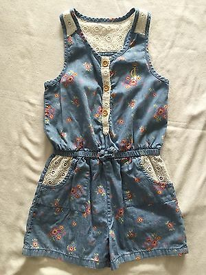 JUICY COUTURE girls summer ROMPER -- size 6 / 6x