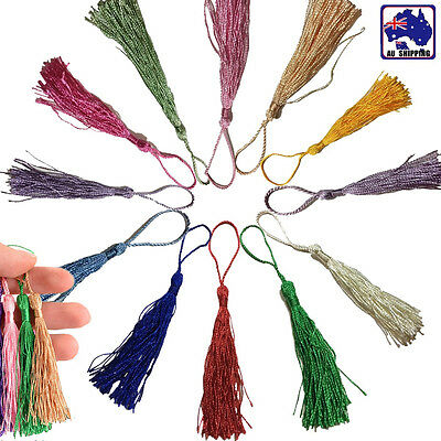 30pcs Fringe Tassel Sewing Finishes Decor Hanging Craft DIY Trim Pendant CKTE612