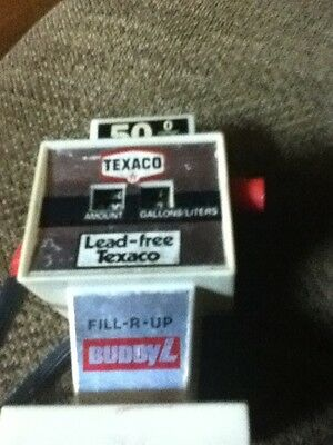 Texaco Buddy L Toy Gas Pump Lead-free Texaco Vintage Push button