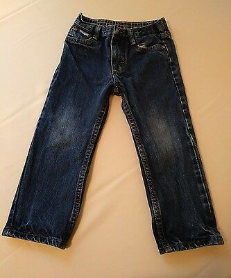 wrangler boys size 4T denim blue jeans