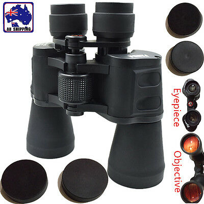 20X50 Binoculars Telescope Finder Zoom Watching BAK4 Night Vision ESCO54902