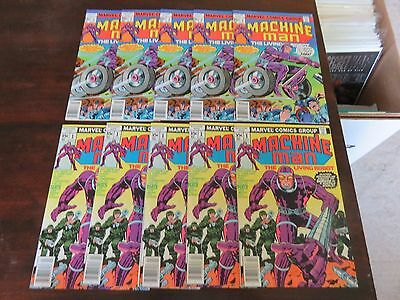 Machine Man #1 and #2 (Apr 1978, Marvel) NM 9.0 several available