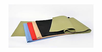 Flato Reversible Table Runner 13 x 54 inch Solid Red New