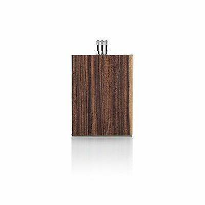 Viski Admiral Rosewood Flask Brown New