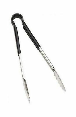 Browne Foodservice (5513BK) 16-Inch Color-Coded One-Piece Tongs New