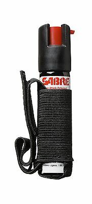 SABRE Dog Spray - Maximum Strength - Adjustable Hand Strap-Black New