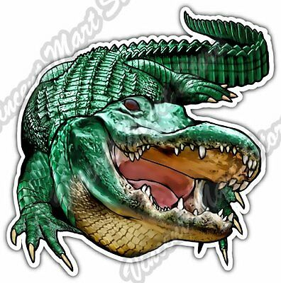 Abstract Colorful stickers Window Truck Car Vinyl Bumper Sticker Decal 5 Alligator Colorful