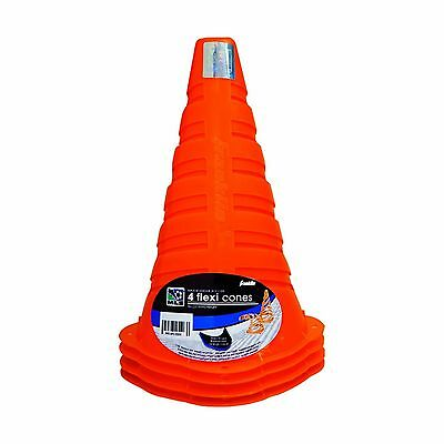 Franklin Sports MLS 9-Inch Flexi Cones (Pack of 4) New