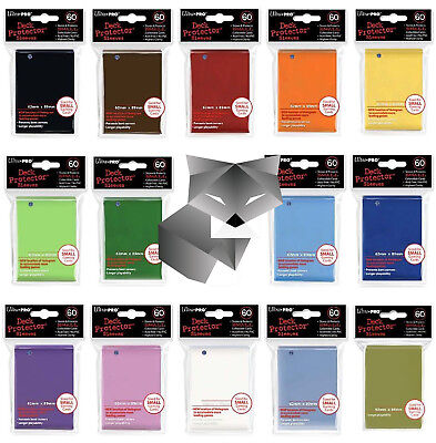 Ultra Pro Card Sleeves - SMALL - Yu-Gi-Oh! + Cardfight!! Vanguard size