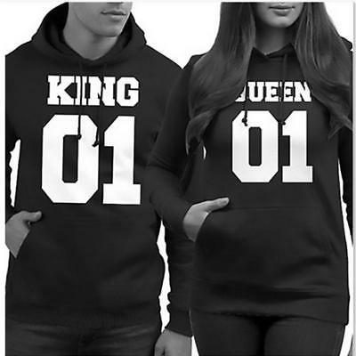 Couple Hoodie - King and Queen 01 His&Hers New Design Couples Matching Hoodies