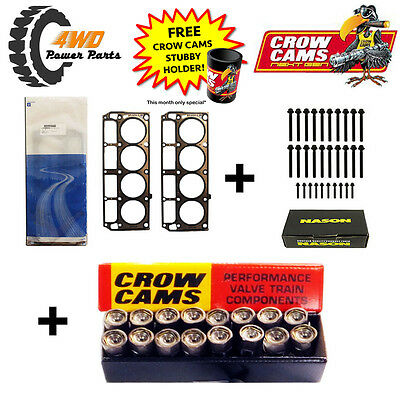 LS1 Head Gaskets and Bolts (2 length) + Hydraulic Roller Lifters Kit