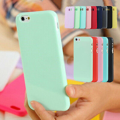 For Samsung Galaxy S6 S7 Edge S8 Plus Case Silicone Gel Rubber Protective Cover