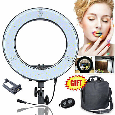 """AU Dimmable 13.5"""" 34cm 40W LED DIVA Ring Light Lamp Beauty Makeup Photo Video"""