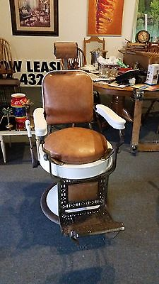 Theo a Kochs Barber Chair Antique
