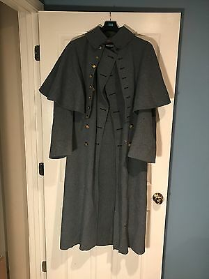 Vintage Army Trench Coat - Dated 1932 Named - West Point Cadet