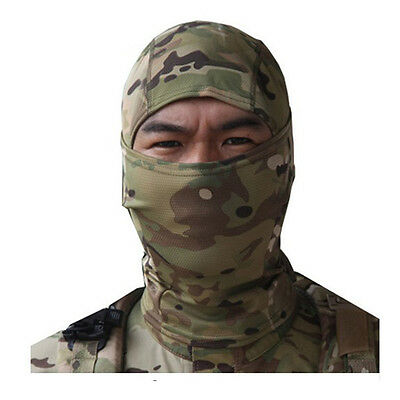 Hunting Paintball Tactical Protection Full Face Mask balaclava