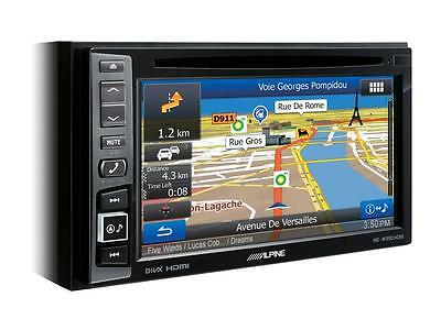 "Alpine INE-W990HDMI 6.1"" CD DVD Euro Navigation Bluetooth USB HDMI Touchscreen"