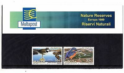 Malta 1999 Europa Presentation Pack SG 1098 - 1099 Unmounted Mint