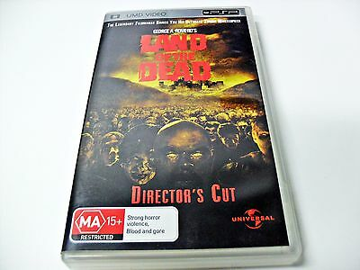 Land Of the Dead Sony PSP Director's Cut UMD Video Portable Play Station Movie
