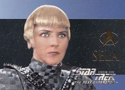 Star Trek TNG The Next Generation Season 5 Character card S30 NM/M condition