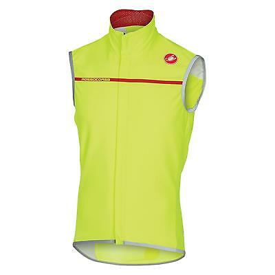 Castelli  PERFETTO Windproof Cycling Gilet - Yellow (AW16)