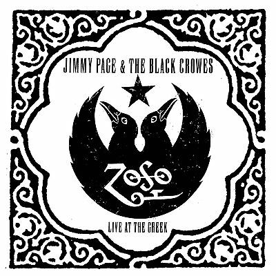 JIMMY PAGE / THE BLACK CROWES - LIVE AT THE GREEK (Triple LP Vinyl) sealed