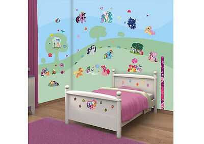 Walltastic Wandsticker My little Pony Kinderzimmer Dekoset Messlatte