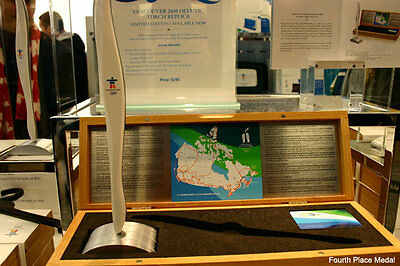 2016 rio 2010 VANCOUVER LIMITED EDITION OLYMPIC TORCH RELAY REPLICA BY BIRKS