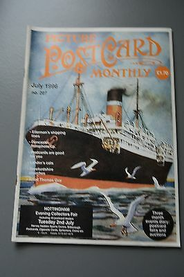 R&L Mag Picture Postcard Monthly 1996 July Steamships/Guinness/Rotophoto/Cats