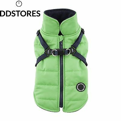Puppia Mountaineer II Manteau d Hiver pour Chien Vert Taille S