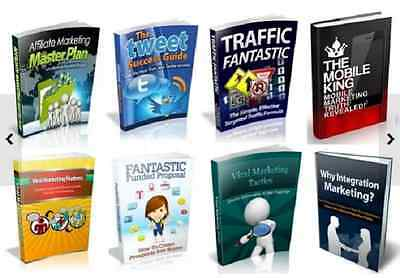Marketing eBooks, 100 PDF eBook Free Shipping With Master Resell Rights