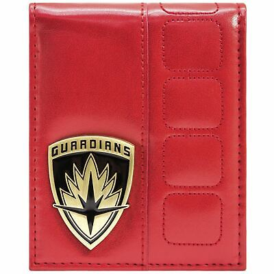 New Official Guardians Of The Galaxy Vol. 2 Suit Up Heroes Red Bi-Fold Wallet