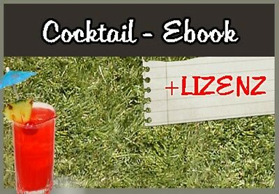 Ebook 150 Cocktail Rezepte Rezept gratis Bonus eBook Download MRR PLR Großhandel